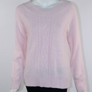 Carolyn Taylor Women's Small Pink Sweater